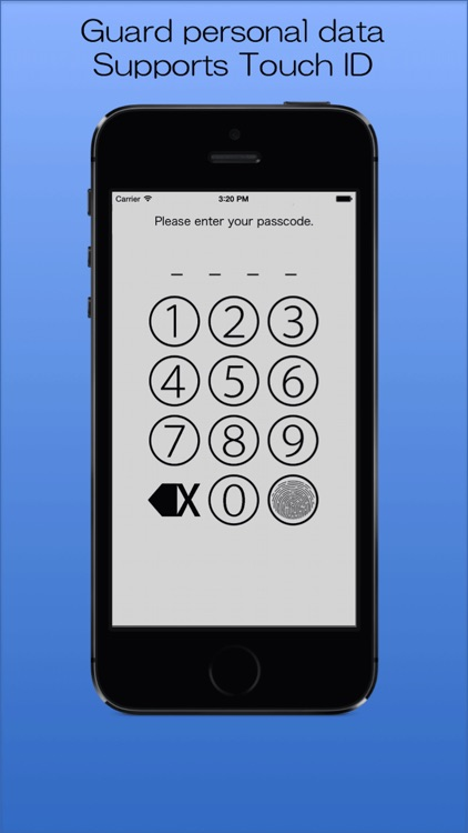 Password Memory -The Simple Password Manager-