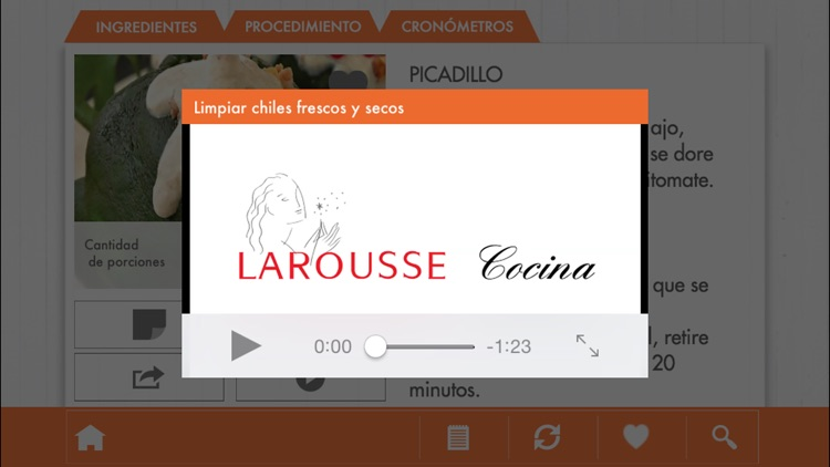 El Chef Larousse screenshot-4