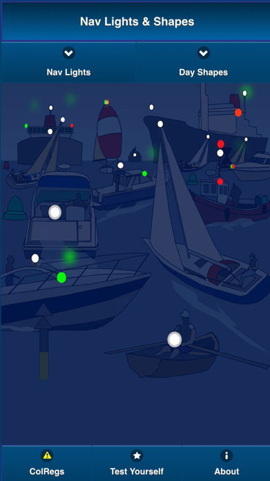 ColRegs: Nav Lights & Shapes for Boating and Sailing Screenshot