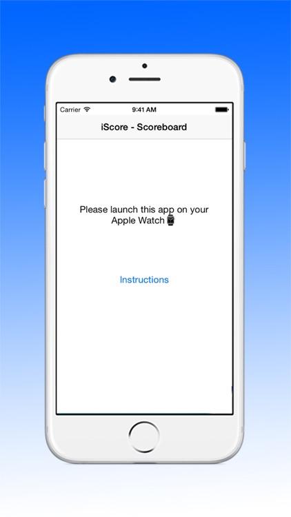 iScore - Scoreboard