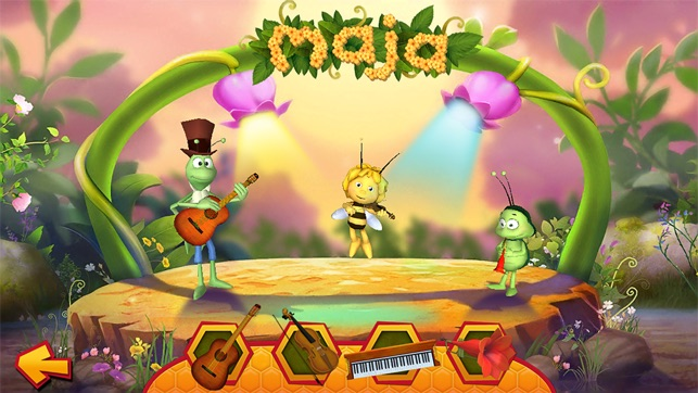 Maya the bee flower party on the app store for App decoracion