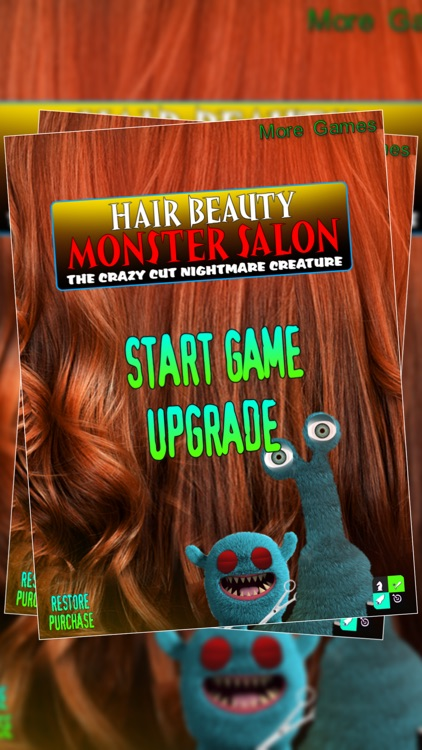 Hair Beauty Monster Salon : The Crazy Cut Nightmare Creature - Free