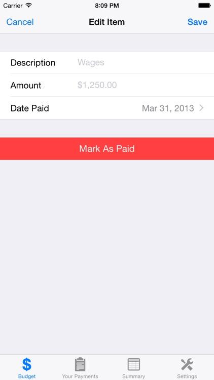 Budget Planner Pro screenshot-4