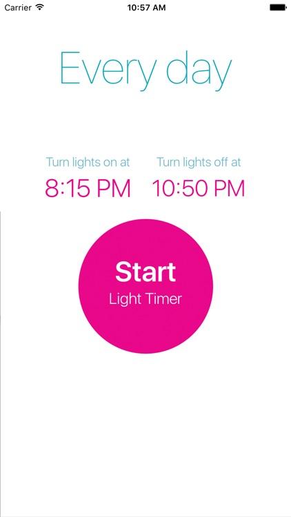 Light Timer for Philips Hue