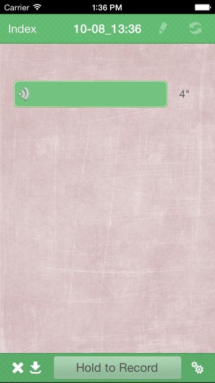 Handwriting Note Lite screenshot-3