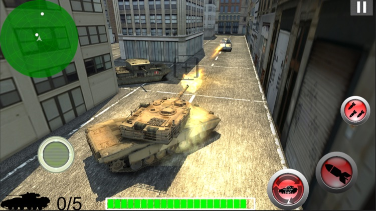 Modern Battle Tank War screenshot-4