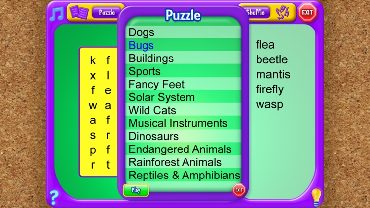 Word Search - An Educational Game from School Zone by School Zone Publishing