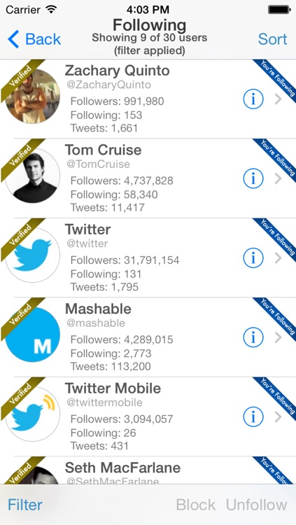 Find Unfollowers And Track New Followers On Twitter - Pro Edition