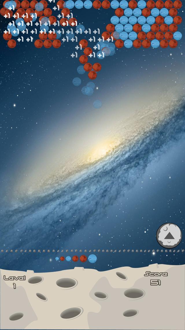 Bubbles planets screenshot one