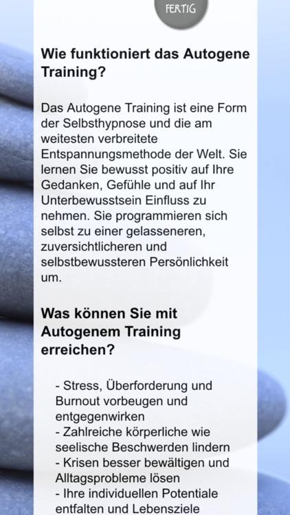 Autogenes Training – gesund und stressfrei durch Entspannung