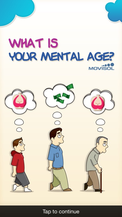 What is your mental age?: discover how old your mind is