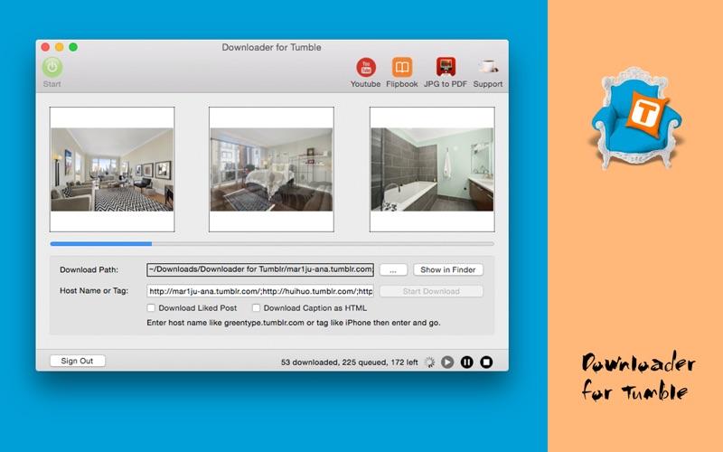 Downloader for Tumble Screenshot - 4
