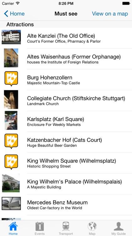 Stuttgart Travel Guide Offline screenshot-3