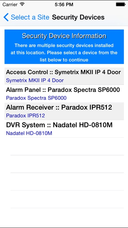 iSecure screenshot-3