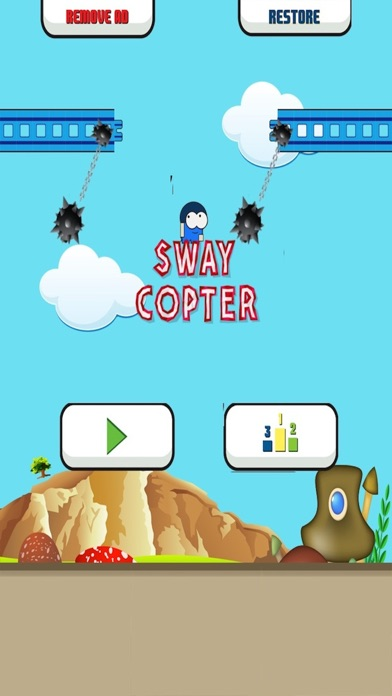 Sway Copter - Swing The Flappy Dude Up!