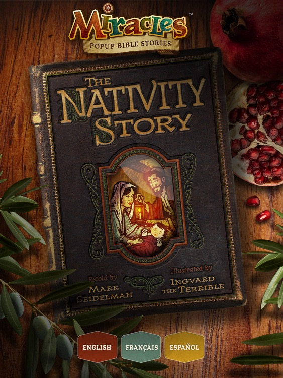 The Nativity Story - Popup Christmas Story about the Birth of Jesus Christ - Deluxe Edition screenshot-4