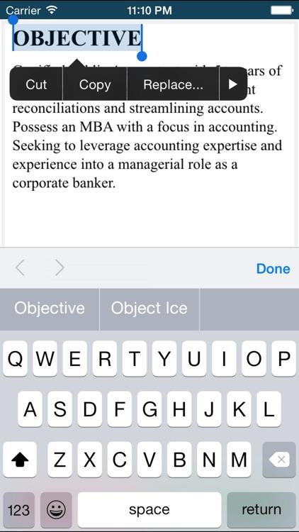 Resume Maker App | Resume CV Cover Letter
