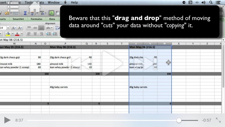 Course for Microsoft Excel - Creating Basic Worksheets screenshot-4
