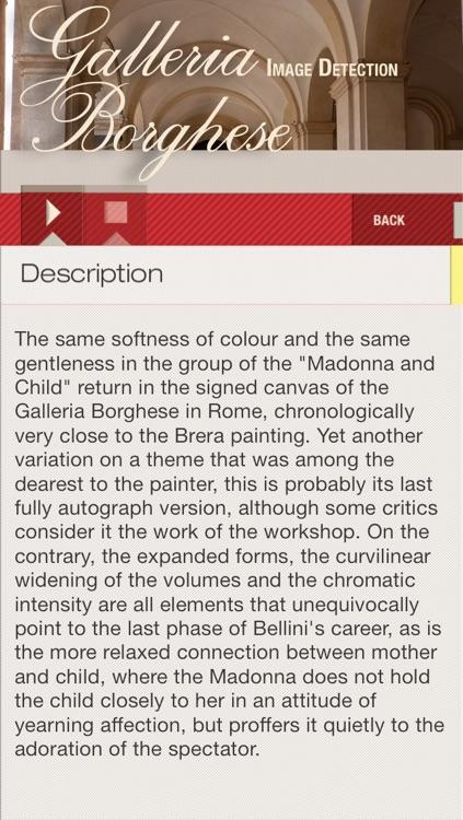 Borghese Gallery ID audio guide screenshot-3