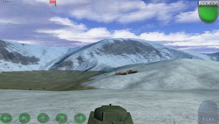 Tanks War HD screenshot-3