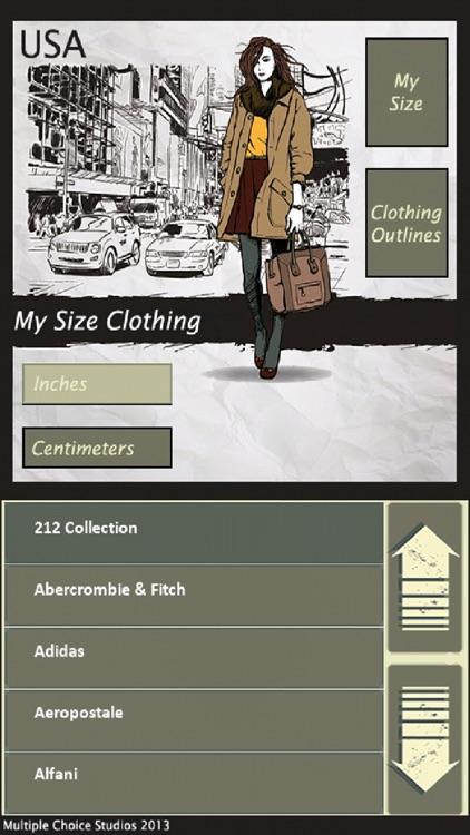 MySize Clothing
