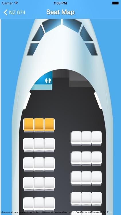 New Zealand Airport - iPlane Flight Information screenshot-4