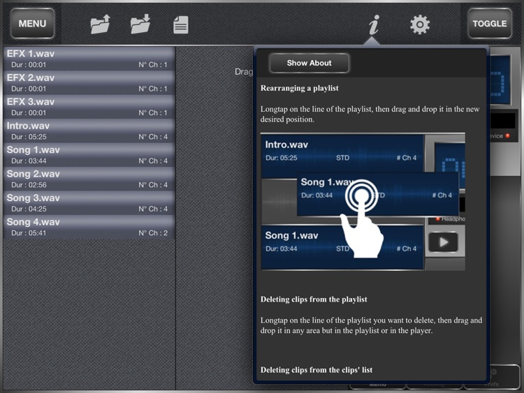 SyncInside - Backing tracks advanced player screenshot-3