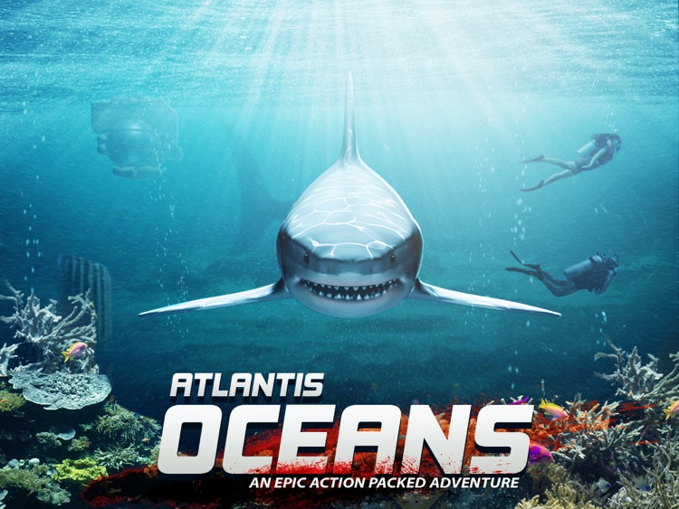 Atlantis Oceans HD Scuba Diving Shark Dolphin Fish Whale screenshot-0