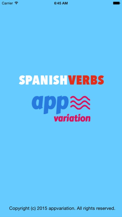 spanish verbs conjugation