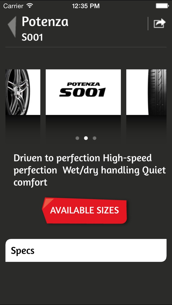 Bridgestone Lebanon Screenshot