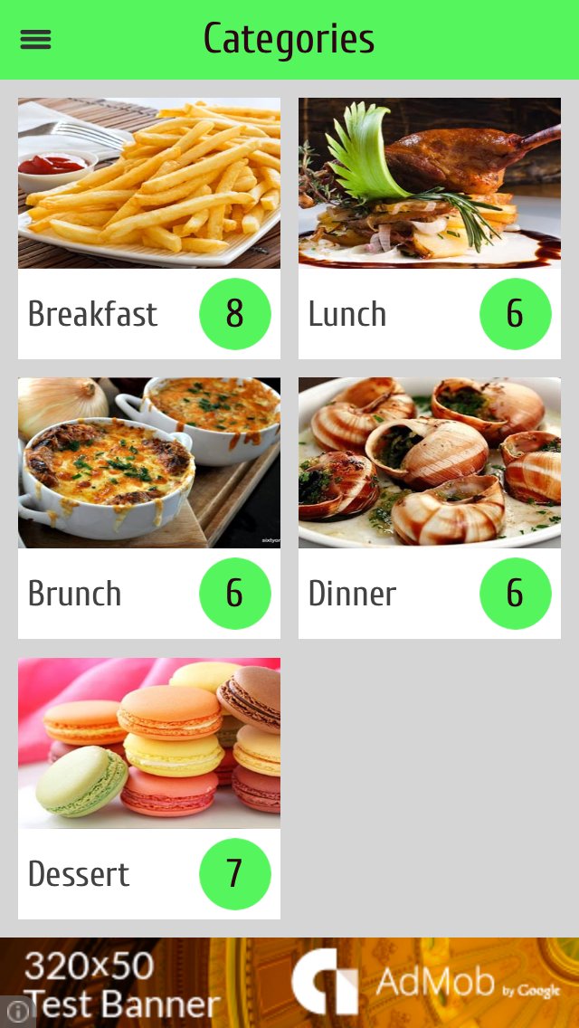 French recipes - best cooking tips, ideas, meal planner and popular dishes screenshot one