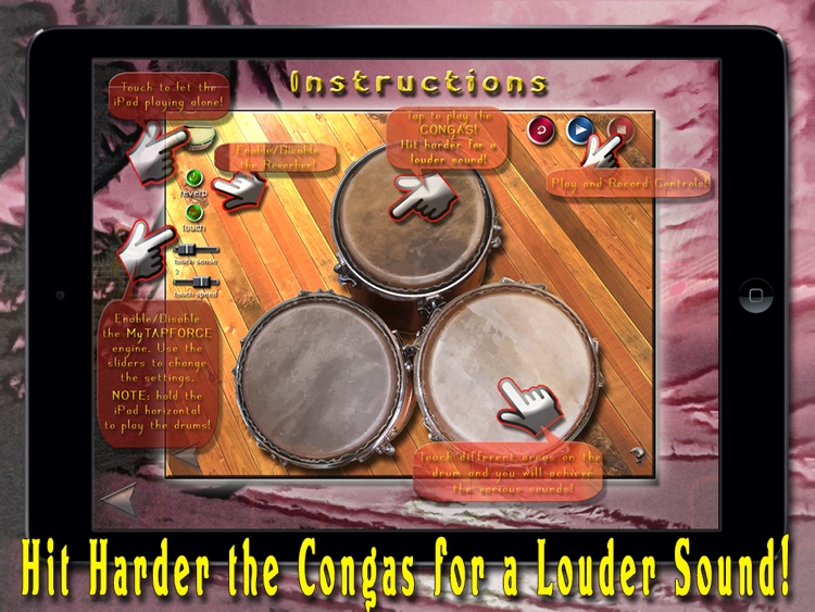 i Play My Caribbean Drums HD screenshot-3