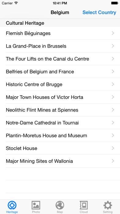 World Heritage in Belgium for Windows