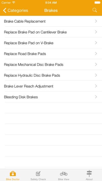 Bike Doctor - Easy bike repair and maintenance Screenshot