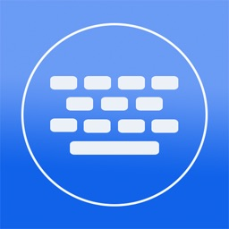 Color Keyboard - Blue Keyboard Skin ( Custom Keyboard System Wide For All Your Apps)