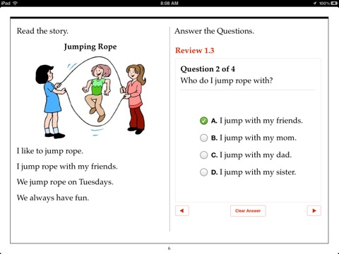 Kindergarten Reading Comprehension By Aaron Levy On Apple Books