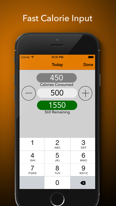 CalorieCalc - Fast & Simple Calorie Counter, Stay Fit And Healthyのおすすめ画像2