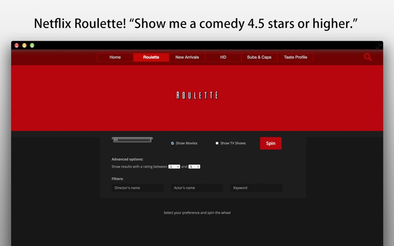 Play+ for Netflix Screenshot