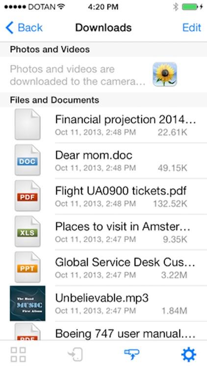 SanDisk Connect™ Wireless Flash Drive screenshot-4
