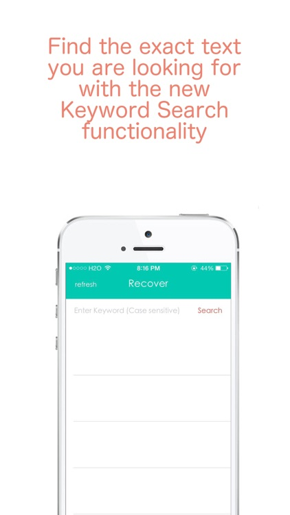Recover - Text Messages Recovery