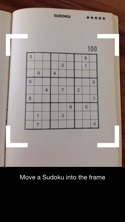 Sudoku Solver Camera screenshot-1