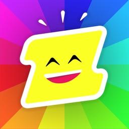 Stickerzap - The free stickers app
