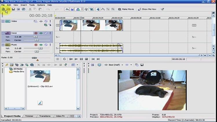 Easy Training for Sony Vegas Pro 8 screenshot-4