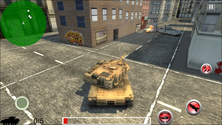 Modern Battle Tank War screenshot-3