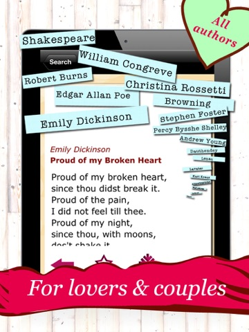 Love Poems - The 150 Most Romantic Poems for Lovers and Friendsのおすすめ画像3