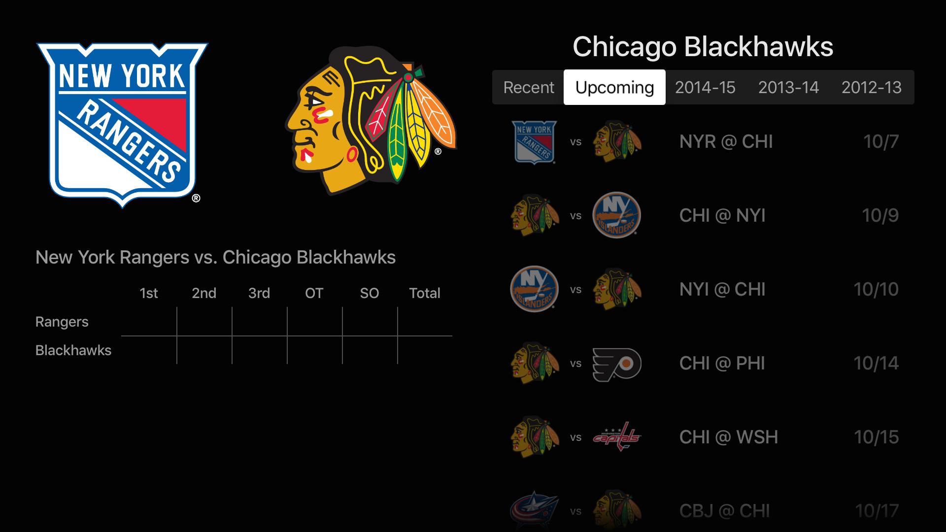 NHL screenshot 21