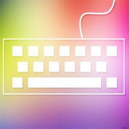 MyKeyboard - custom color keyboard skins for iOS 8