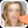 Picture Blur - Hide face, wipe skin, erase pimple from portrait, intensity adjusting. Share on facebook, instagram and Photoshop for likes