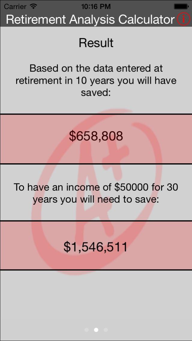 Retirement Analysis Calculator-1