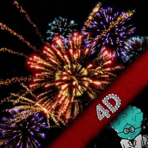 Feuerwerk 4D